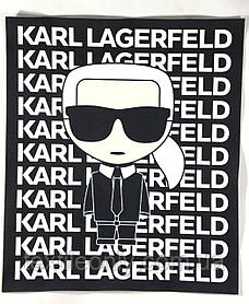 Нашивка Карл Лагерфельд / Karl Lagerfeld 225х260 мм