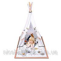 Развивальний килимок-палатка 3 в 1 Kinderkraft Tippy, фото 3
