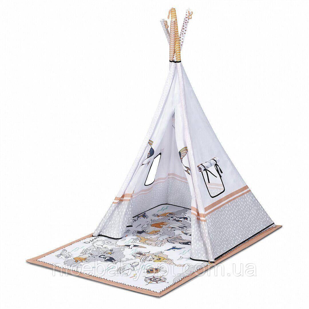 Развивальний килимок-палатка 3 в 1 Kinderkraft Tippy