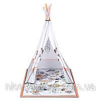 Развивальний килимок-палатка 3 в 1 Kinderkraft Tippy, фото 4