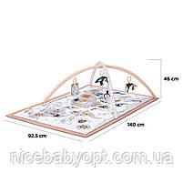 Развивальний килимок-палатка 3 в 1 Kinderkraft Tippy, фото 6