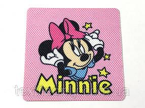 Нашивка Минни Маус / Minnie Mouse 60х60 мм