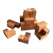 Деревянная головоломка Мозговой штурм, фото 2
