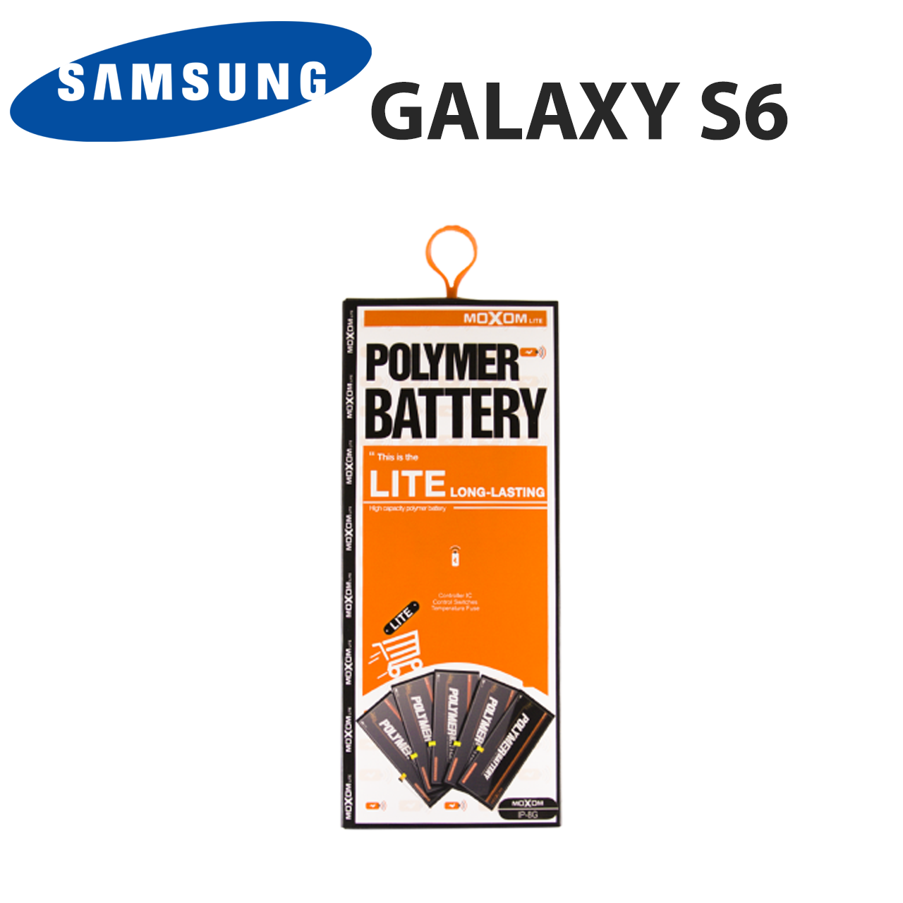 Аккумулятор Samsung Galaxy S6 (G920F, EB-BG920ABE), батарея самсунг с6