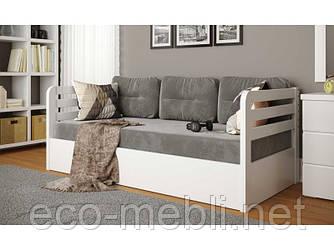 """Дитяче ліжко ARBOR DREV """"Немо люкс"""" з підйоним механізмом ( сосна)"""