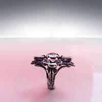 "Серебряное кольцо ""Draco"" с белым топазом от WickerRing"