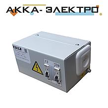 Ящик с понижающим трансформатором 220В/24В 250Вт.