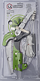 Гілкоріз штанговий з храповим механізмом і садовою пилкою Центроинструмент (0220), фото 2