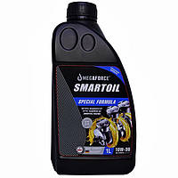Масло моторне напівсинтетичне SmartOil 10W-30, 1 л., фото 1