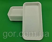 Підкладка (лотки) зі спіненого полістиролу(270*136*20 Т-1-20 (200 шт)