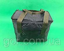 Термосумка 28*23*33 (1 шт)  сумка холодильник термоизоляционный для хранения и перевозки продуктов