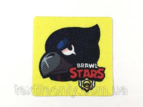 Нашивка Brawl Stars Raven   Бравл Старс Ворон 60х60 мм