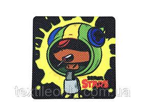 Нашивка Brawl Stars Leon   Бравл Старс Леон 60х60 мм