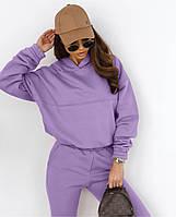 Модный женский спортивный костюм с укороченной кофтой (Норма), фото 5