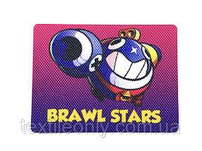Нашивка Brawl Stars   Бравл Старс 80х60 мм