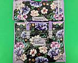 Сумка хозяйственная , полипропиленовая,  с цветным рисунком  №4 Цветы (10 шт), фото 3