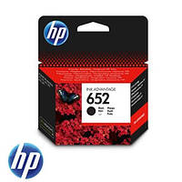Черный картридж hp 652 dj ink advantage 1115/2135/ 3635/3835 black (f6v25ae)