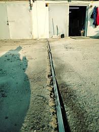 Защитное заземление гаража в ГК Турист г. Днепр 2021год.