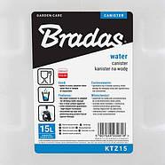 Канистра для воды, 20л, с краном и дозатором мыла, KTZD20 BRADAS, фото 2
