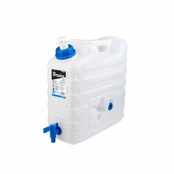 Канистра для воды, 15л, с краном и дозатором мыла, KTZD15 BRADAS Марка Европы