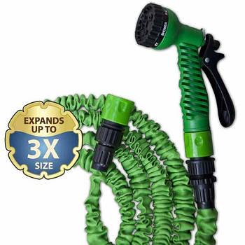 Растягивающийся шланг TRICK HOSE 5-15 м, зеленый, WTH515GR BRADAS Марка Европы