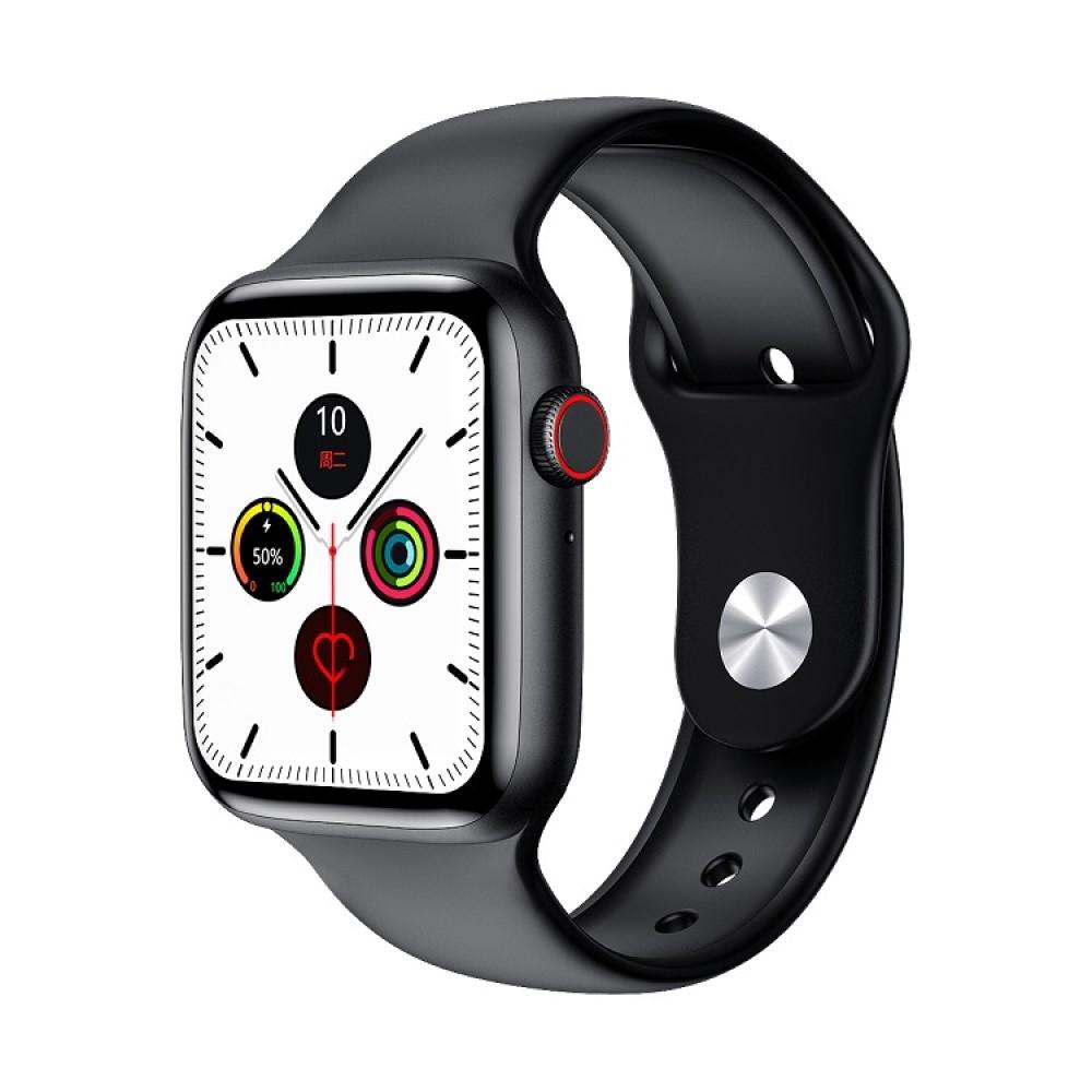 Розумні смарт-годинник Smart Watch PRO W26 (Термометр, пульс, тонометр, ЕКГ) Чорні