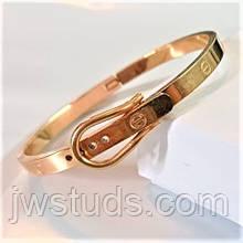 Женский браслет в стиле бренда Cartier в виде ремешка