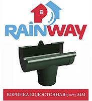 RAINWAY 90/75 мм Воронка жолоба водостічного