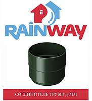 RAINWAY 90/75 мм Муфта труби водостічної 75 мм