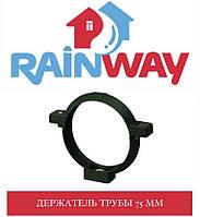 RAINWAY 90/75 мм Хомут труби пластик 75 мм