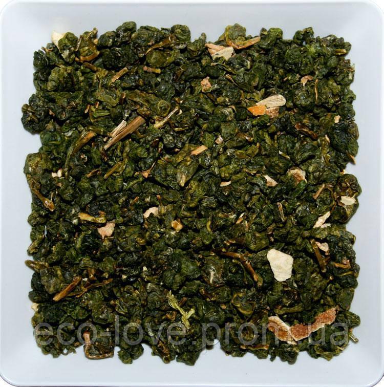 Чай зеленый УЛУН АПЕЛЬСИН 40г ТМ ТАТА