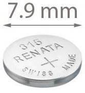 Батарейка для часов, Renata 315
