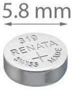 Батарейка для часов, Renata 319