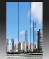 """Ширма деревянная """"Шанхай. Китай"""""""