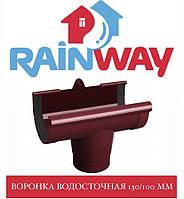 RAINWAY 130/100 мм Воронка желоба водосточного, фото 1