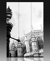 """Ширма деревянная  """"Вестминстерський Центральный холл. Лондон"""""""