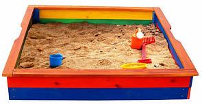 Деревянная песочница 25 SportBaby