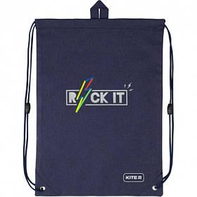 Сумка для обуви Kite Education Rock it 46х33 см Синий (K20-600M-10)