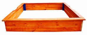Деревянная песочница 26 SportBaby