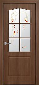 Двері Новий Стиль Класик ПО з малюнком Р1