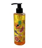 Антицеллюлитное массажное масло папая+грейпфрут Top Beauty 200мл, фото 3