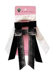 Набір оксамитових бантиків - прикраса для волосся від my scarf