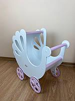 СУПЕР ПОДАРОК для девочки! Детская игрушечная коляска для кукол и пупсов