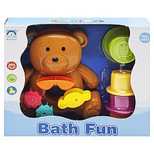 Игрушка-фонтанчик для ванной Мишутка, коричневый