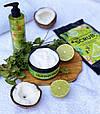 Антицелюлітне холодне обгортання Top Beauty Cold Body Wrap Лайм - М'ята - Імбир, 250 ml, фото 4