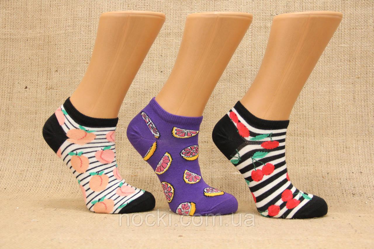 Жіночі шкарпетки короткі комп'ютерні EKMEN асорті М-1
