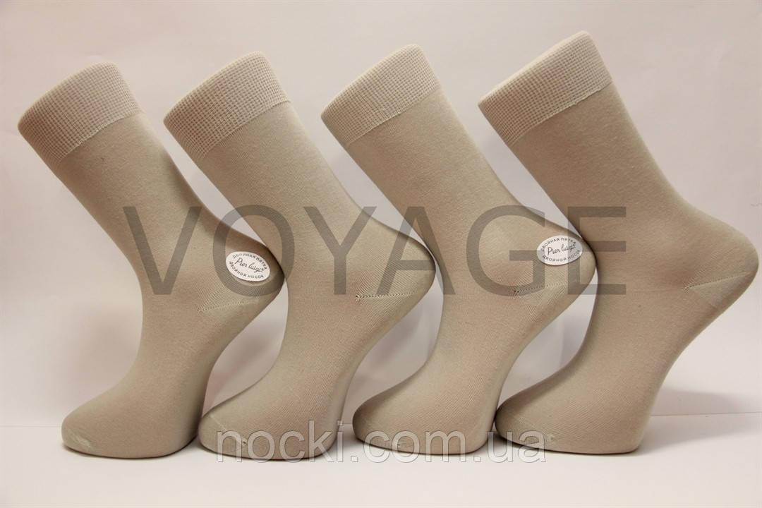 Чоловічі високі шкарпетки з бавовни П'єр Луїджі 1004,1005 38-40 таш