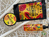 Антицеллюлитный скраб Top Beauty Anti-Cellulite Scrub Грейпфрут - Папайа, 200 g, фото 2