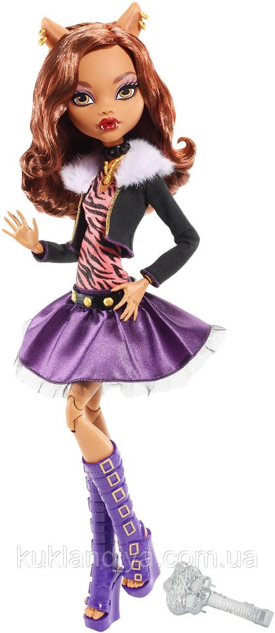 """Кукла Монстер Хай Базовая Клодин Вульф Страшно высокие 42 см - Clawdeen Wolf 17"""""""