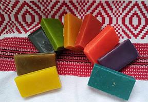 Віск  кольоровий по 10 грам  (9 шт )